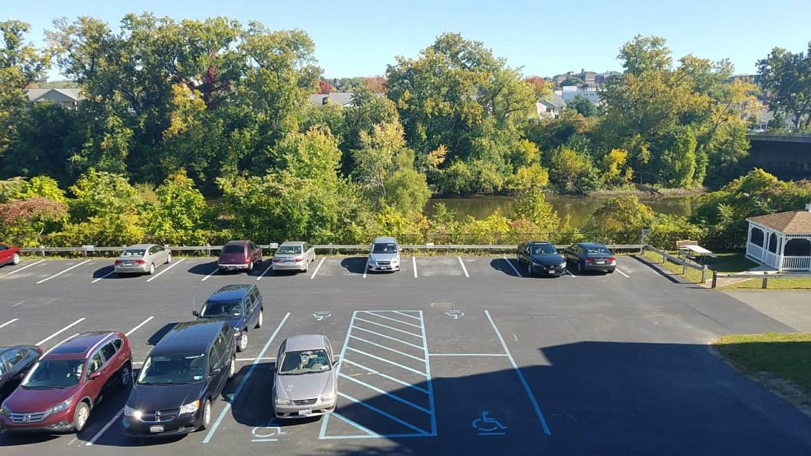 Parking Areas, Waterside Apartments, Cohoes, New York