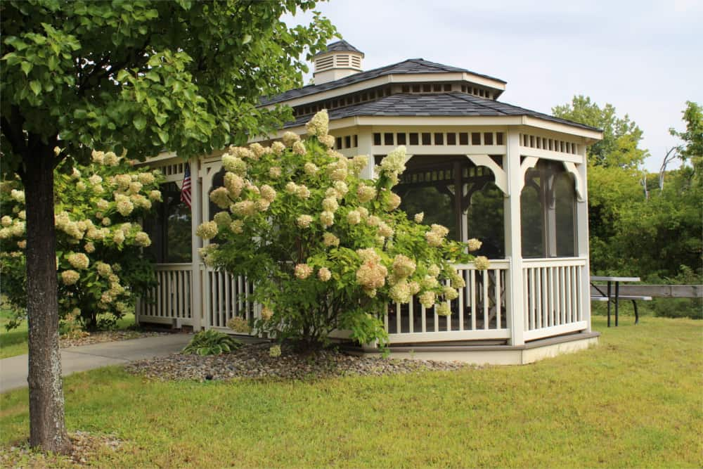 Gazebo, Waterside Apartments, Cohoes, New York