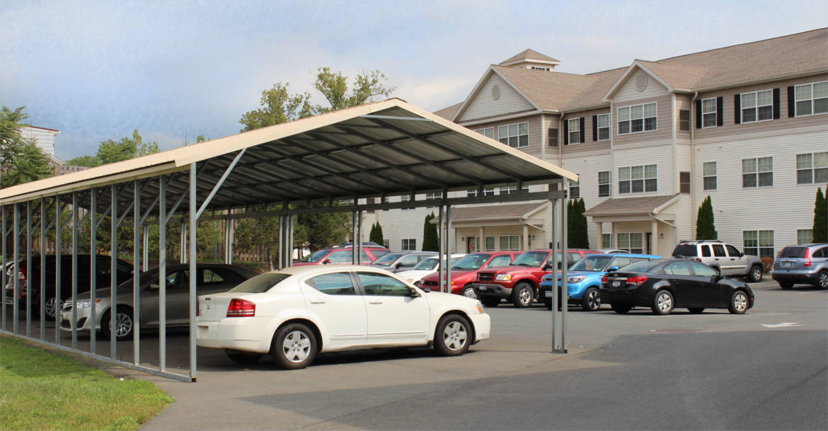 Available Covered Parking, Waterside Apartments, Cohoes, New York