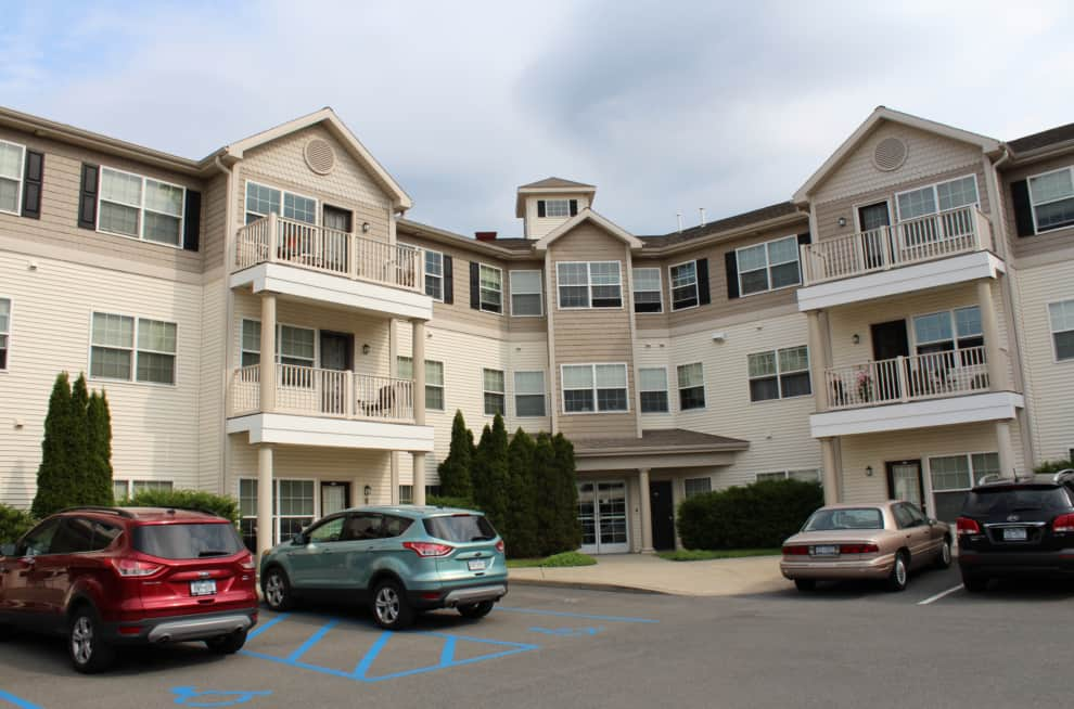 Building Front, Waterside Apartments, Cohoes, New Yorkcv