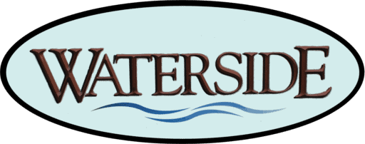 Waterside Sign, Waterside Apartments, Cohoes, New York