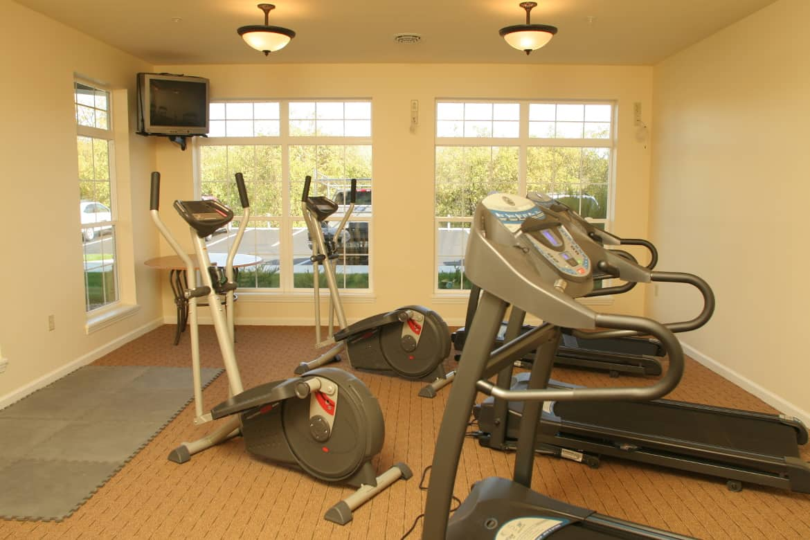 Fitness Center, Waterside Apartments, Cohoes, New York