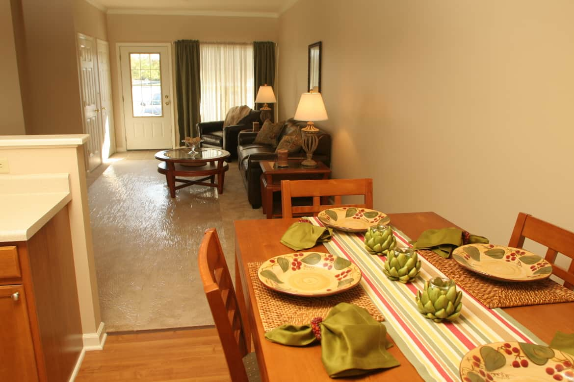 Apartment Interior, Waterside Apartments, Cohoes, New York