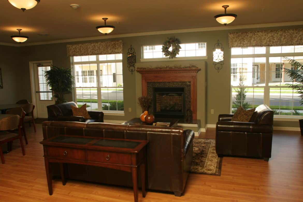 Waterside Common Room, Waterside Apartments, Cohoes, New York