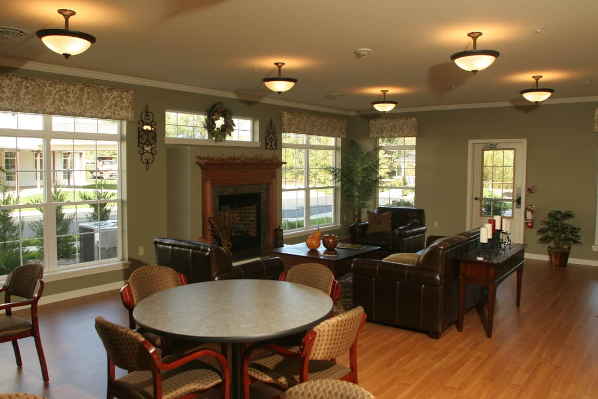 Common Area, Waterside Apartments, Cohoes, New York