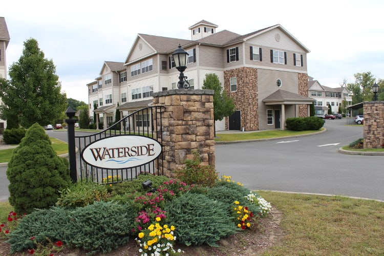 Entrance, Waterside Apartments, Cohoes, New York